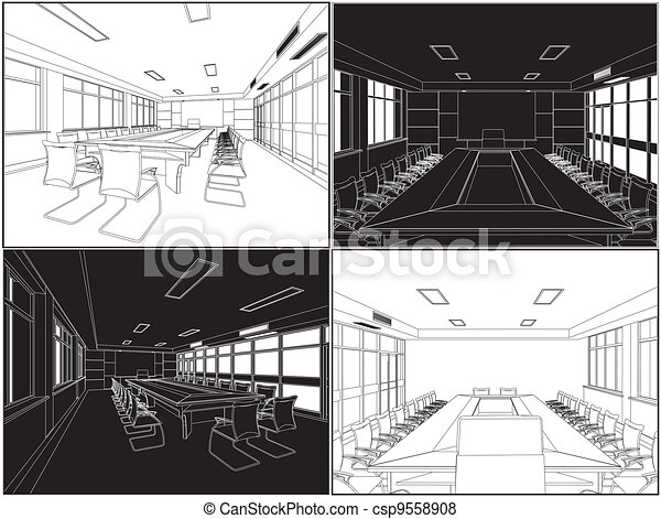 Meeting Conference Room - csp9558908