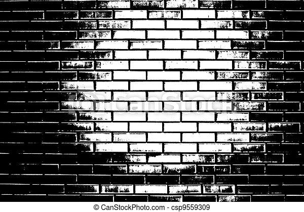 clip art black and white brick wall � cliparts
