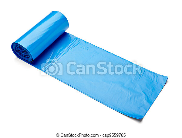garbage bag trash waste - csp9559765