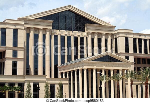 Jacksonville Florida Courthouse - csp9560183