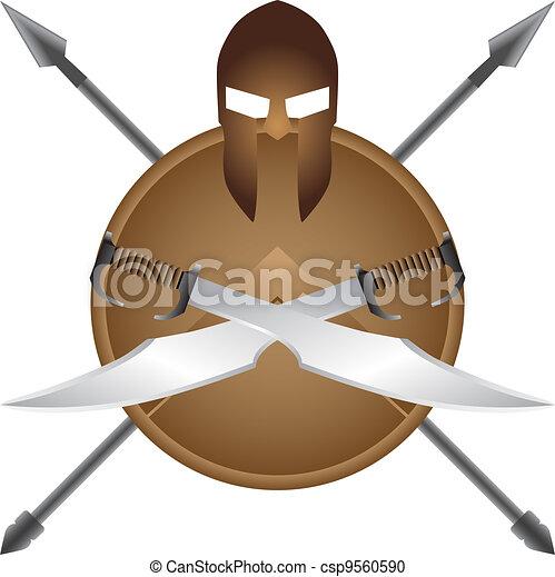 Spartan symbol - csp9560590