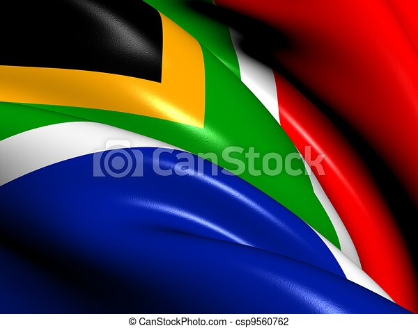 Flag of South Africa - csp9560762