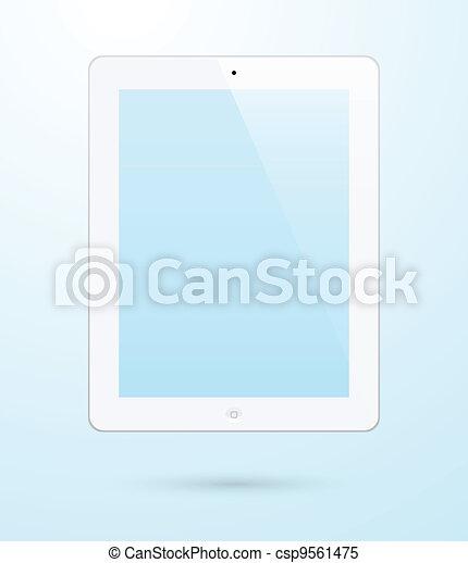 ipad tablet - csp9561475