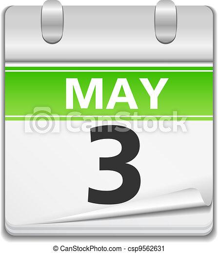 Calendar Icon - csp9562631