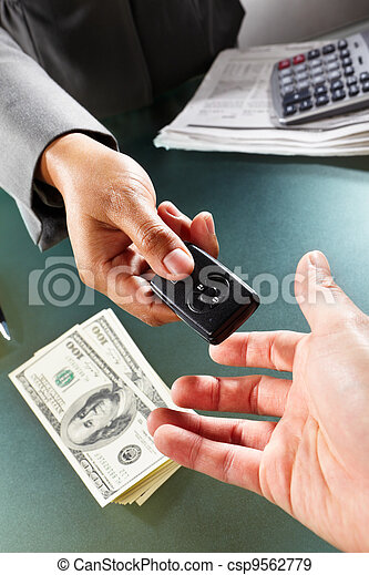 Car transaction - csp9562779