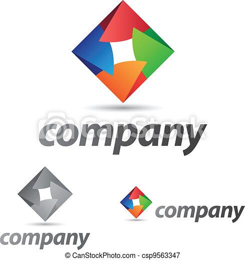 Corporate Icon - csp9563347