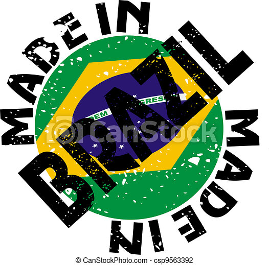 Made in Brazil - csp9563392