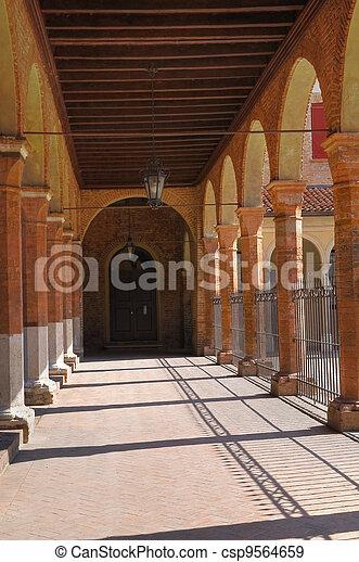 Oratory of St. Anna. Ferrara. Emilia-Romagna. Italy. - csp9564659