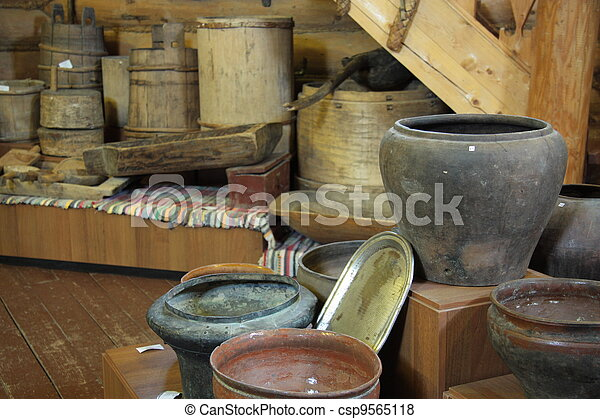 Ancient kitchen utensils