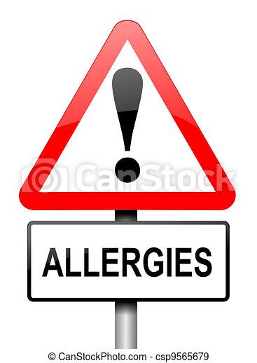 Allergies - csp9565679