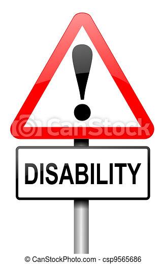 Disability awareness. - csp9565686