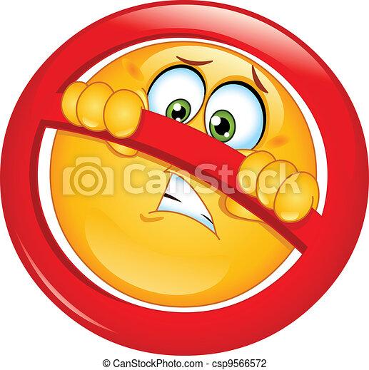 Not allowed emoticon - csp9566572