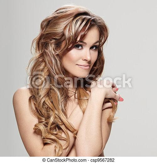 Curly hair - csp9567282