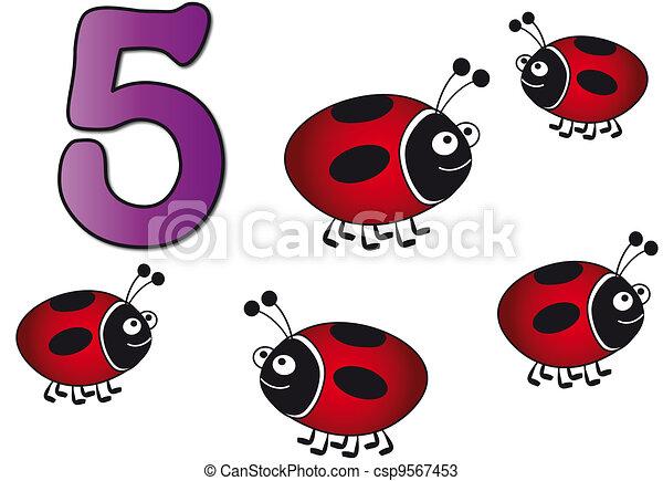 five number - csp9567453