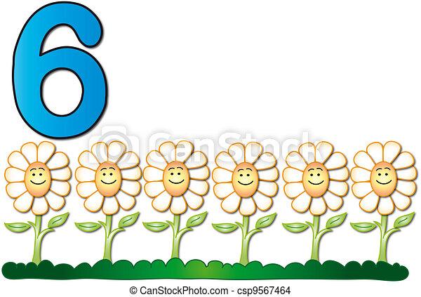 six number - csp9567464