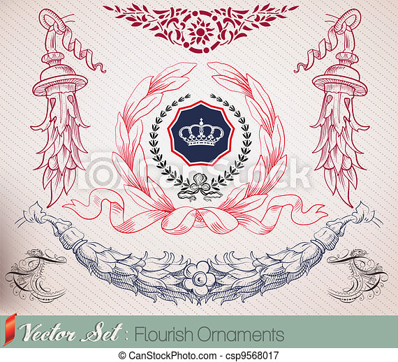 Ornaments set - csp9568017
