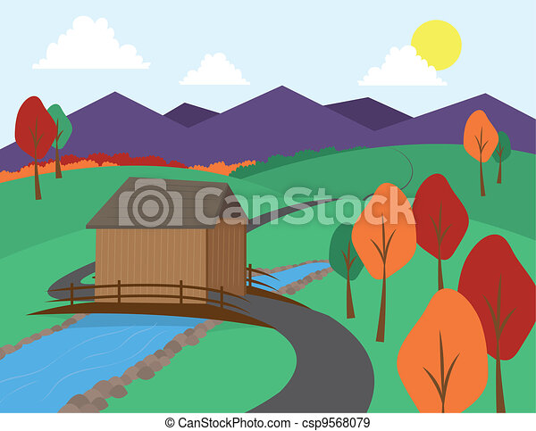 Countryside - csp9568079