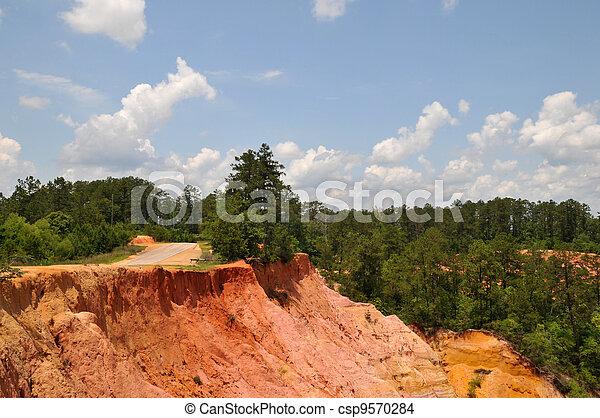 Red Bluffs - csp9570284