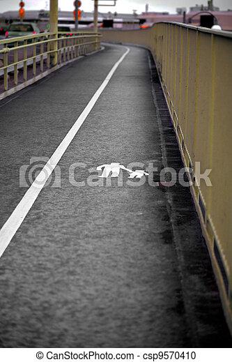 pedestrian walkway - csp9570410
