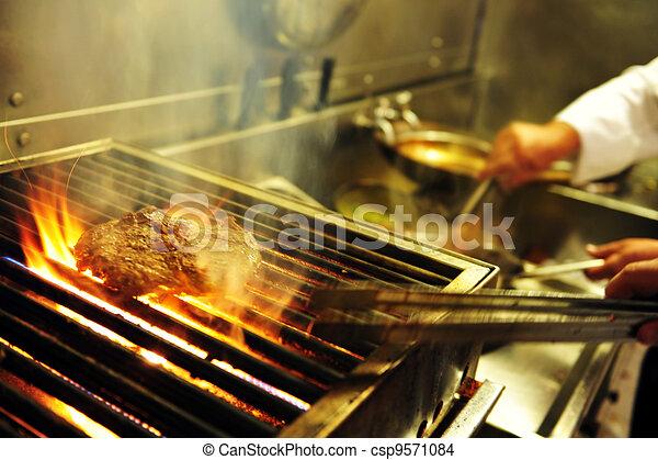 Food and Cuisine - Restaurant - csp9571084
