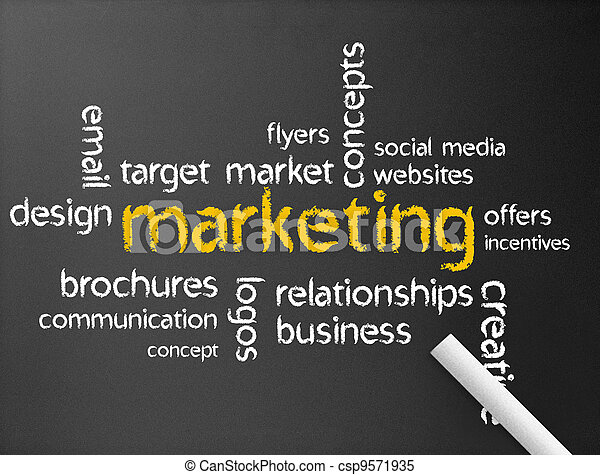 Marketing - csp9571935