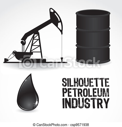 icons in the oil industry - csp9571938