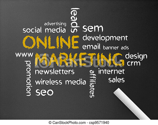 Online Marketing - csp9571940