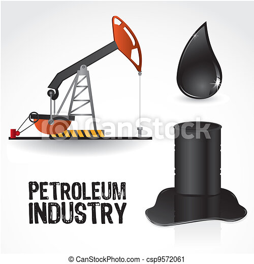 icons in the oil industry - csp9572061