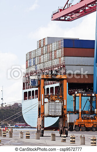 Loaded containers