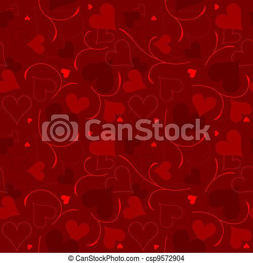 Hearts Texture - csp9572904