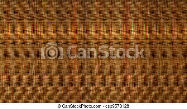 3d macro render computer chaos orange color pattern - csp9573128
