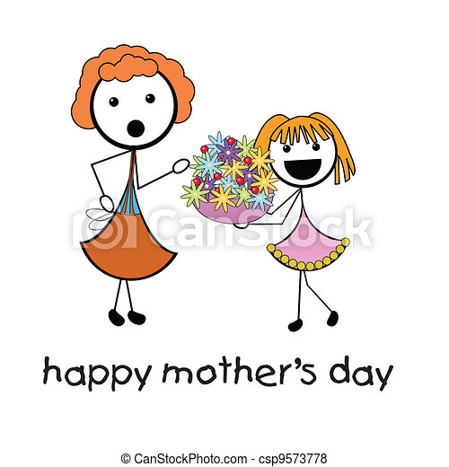 happy mother's day - csp9573778