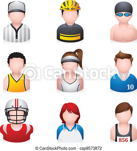 People Icons - Sport - csp9573872