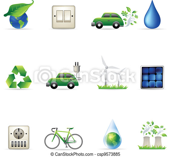 Web Icons - Environment - csp9573885