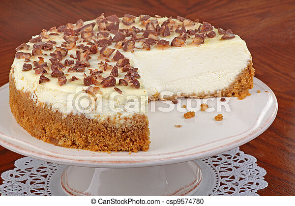 Sliced Cheesecake - csp9574780