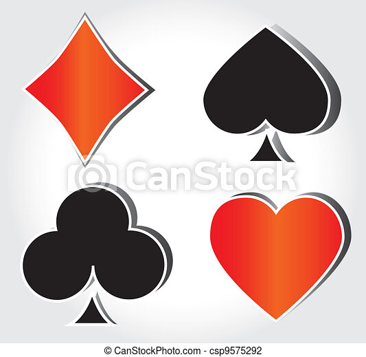 Cards deck - csp9575292