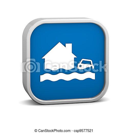 Flood sign - csp9577521
