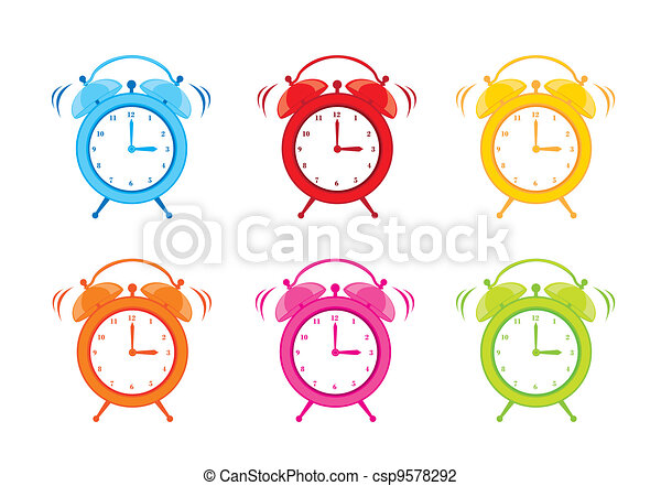cute clock alarm - csp9578292