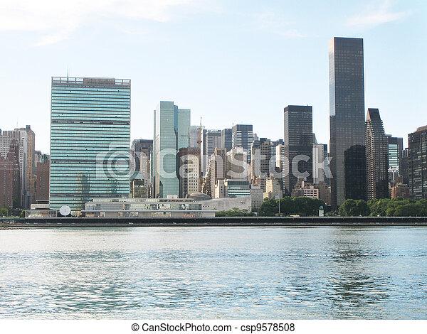 New York city skyscrapers - csp9578508