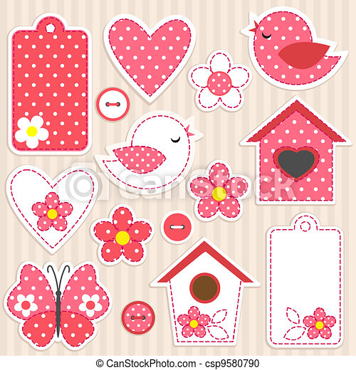 Love set - csp9580790