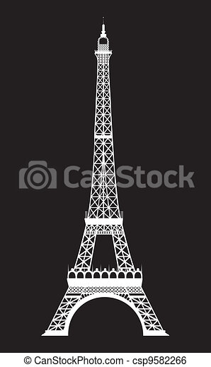 eiffel tower - csp9582266