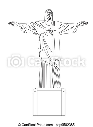 christ redeemer - csp9582385