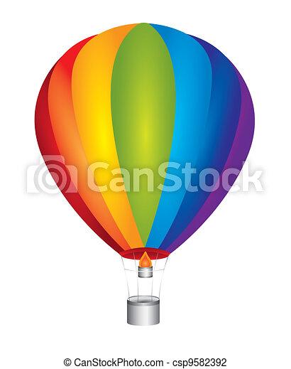 hot air balloon - csp9582392