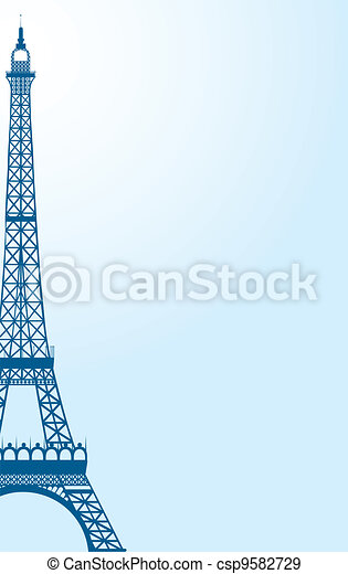 eiffel tower - csp9582729