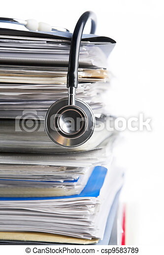 Medical record - csp9583789