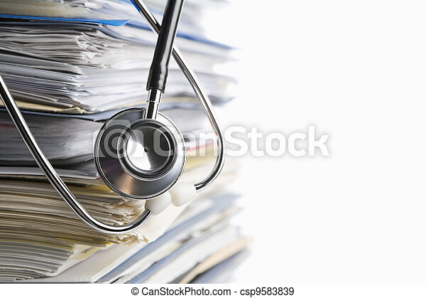 Medical record - csp9583839
