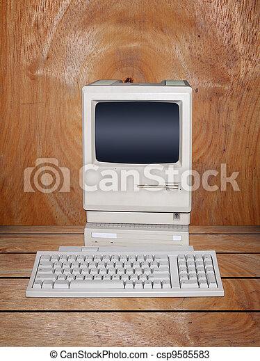 Old desktop computer - csp9585583