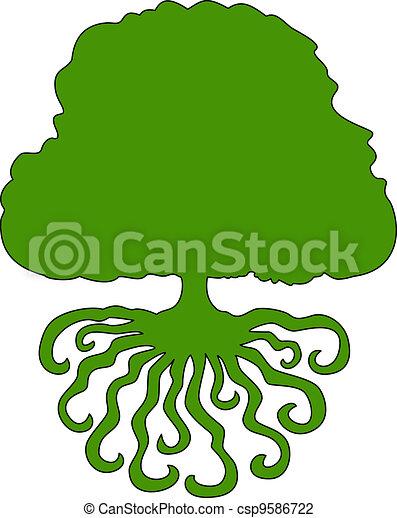 Green tree - csp9586722