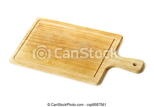 Wooden chopping board - csp9587561