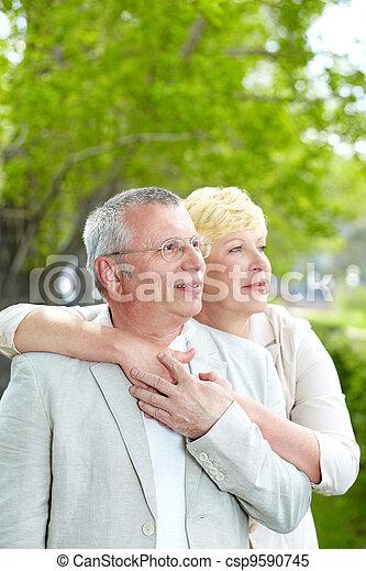 Serene couple - csp9590745